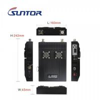 Quality High Range Wireless COFDM Transmitter And Receiver ST9500DBH 1 Watts Robot UGV Mobile for sale