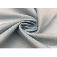 China Grey Color Hole Pattern Breathable Outdoor Fabric 100D +100D * 100D + 100D Yarn Count on sale