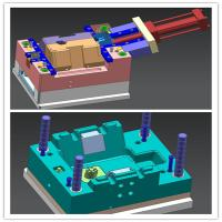 Buy cheap Plastic Injection Mould Design For Custom Parts Tooling With Threads In STP File product