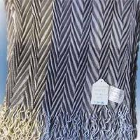 Quality 100% Acrylic Woven Scarf Measuring 180 x 54cm with 10cm Fringe for sale
