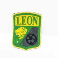 Buy High quality Tatami fabric custom FC Flocking patch for sports team label patch at wholesale prices