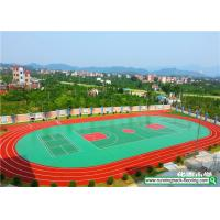 Quality Weather Resistant Rubber Running Track Mixed Basketball Court Durable for sale