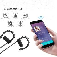 Buy cheap Black / Red / Gold / Blue Mobile Bluetooth Headset Noise Cancel For Samsung LG Iphone product
