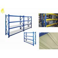 Quality Rustproof Heavy Duty Galvanised Shelving / Heavy Duty Industrial Shelving Systems for sale