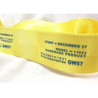 Quality Eco - Friendly Narrow Nylon Elastic Woven Tape Woven Name Tapes 30D / 50D / 100D Yarn for sale