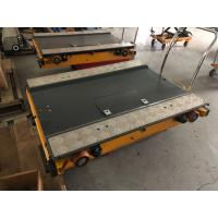 Quality Automated Retrieval Stainless Steel Storage Pallet Rack / Pallet Shuttle Runner for sale