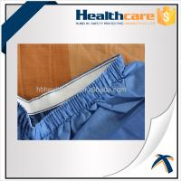 Buy Blue PP / SMS Disposable Protective Gowns Scrub Suit Lightweight S-5XL Size at wholesale prices