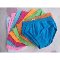 Buy cheap OEM 100% Polyester Red and Blue Organic Little Kids Cute Underwear for Girls product