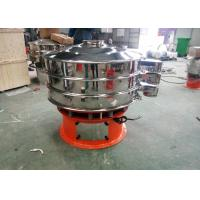 Quality 2 Layers Stainless Steel Vibro Sieve Machine Unique Screen Structure Design for sale