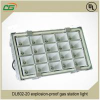 China Cree 6500K 100W Waterproof LED Flood Light Pure White For Gas Station , AC 220 Volt LED Canopy Light on sale