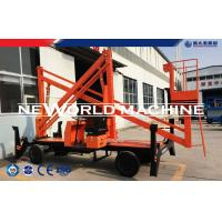 Quality 14.5M Diesel Engine &380V Electricity Double Used Multifunctional Aerial Work Platform for sale