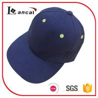 Quality Children simple navy 100% cotton twill adjustable 6 panel baseball cap personalised for sale