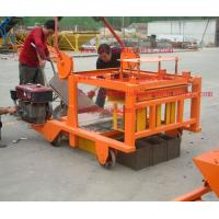Quality Mobile Diesel Concrete Block Making Machine 4-45 no Electric Concrete Brick Making Machine for sale
