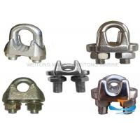 Quality DIN1142 JIS Type Stainless Steel Wire Rope Clamp For Marine Or Construction for sale