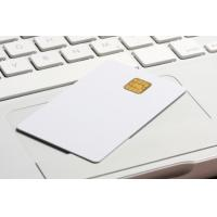 Buy cheap standard 0.76MM white PVC Loyalty cards with RFID smart chip contacted product