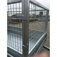 Hot Dipped Galvanized Heavy Duty 7x5 Cage, Mesh Cage, Stock Crate