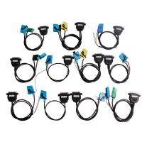Quality 3 Odometer Programmer OBD Diagnostic Cable Sets For All Cars / Trucks for sale