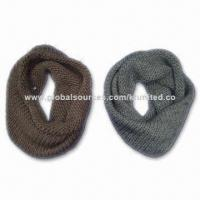 Quality Neck Warmer/Muffler/Scarf/Snood, Made of Acrylic, Measures 45 x 36cm for sale