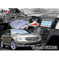 Quality Ford Taurus SYNC 3 Android GPS navigation box Google apps yandex igo video interface for sale