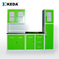 Quality 0.38 CBM 1920mm Height 2295mm Width Steel Kitchen Cabinet for sale