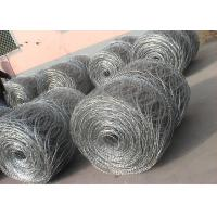 Quality Hot - Dipped Galvanized High Tensile Barbed Wire 10BWG x 12BWG Per Roll for sale