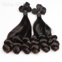 Quality Real Indian Funmi Virgin Hair , Remy Human Hair Weave For Black Women for sale