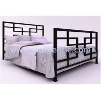 Quality Antique Style Metal Frame Bed Double Size For Luxurious Country Or Urban Decor for sale
