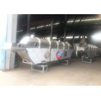 Quality Continuous vibration Industrial Fluid Bed Dryers for food, chemical granule, pellets drying for sale