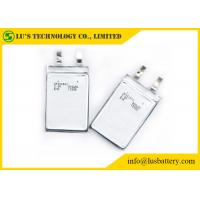 Quality High Safety CP352540 3v Thin Cell Battery , Lithium Manganese Battery 900mah for sale