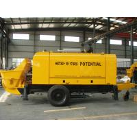 Quality 6400kg Stationary Concrete Pump 174 Kw Power Open Loop Design Long Service Life for sale