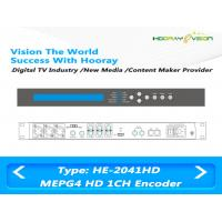 Quality AVC / H.264 MPEG4 HD  Multi-Input Digital Video Encoder for IPTV OTT platform for sale