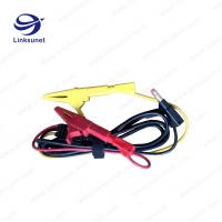 Quality Alligator Clip Injection Wiring Harness UL94 - V0 PVC Material 4.0MM PIN for sale