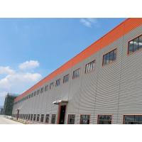 Quality Large Span Light Steel Structure Warehouse Heat Insulated Little Noise for sale