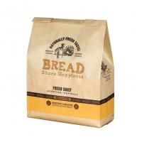 China Bakery Packing Paper Bags With Handles Custom Logo Printing 21*15*8cm on sale