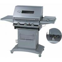 China 3 Burners Gas Grill with Glass Window on sale