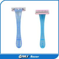 Quality Stainless Steel Triple Blade Disposable Razor / shaving safety razor for sale