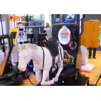 Buy cheap Mechanical Horse Racing VR Exercise Equipment For Shopping Mall Customized Color from wholesalers