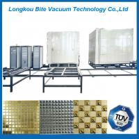 Quality Ceramic Tiles TiN Thin Film PVD Coating Machine for sale
