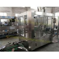 Quality Rotary Monoblock Filling And Capping Machine , 380V / 50HZ Commercial Bottling Machine for sale