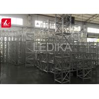 China 500mm X 600mm Outdoor Stage Aluminum Square Truss High Corrosion Resistance on sale