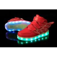 China Low MOQ OEM Customize Luminous Children LED Light Shoes on sale
