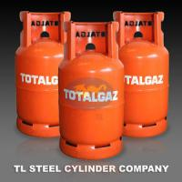 Quality Empty Cooking Gas Cylinder , 12.5kg Refillable Gaz Storage Tank for sale