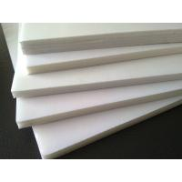 Quality White Adhesive Foam Core Board , PVC Material Acrylic Paint On Foam Board for sale