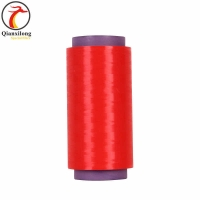 China High quality red UHMWPE dyed yarn/fiber ,ultra high molecualr weight polyethylene filament for medical suture 30D on sale