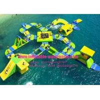 Buy cheap Amazing Inflatable Water Park Rentals 65 People Capacity Customized Color product