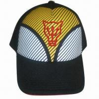 China Fashionable Sports Hat with Water Based Printing on sale