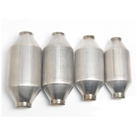 Buy cheap Euro 3/4/5 Emission Standard 51mm 57mm 64mm Car Exhaust Catalytic Converter from wholesalers
