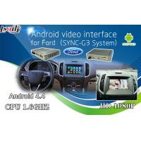 Quality Android 6.0 GPS navigation video interface for Ford SYNC 3 with Google play store/wifi/ Mirrorlink for sale