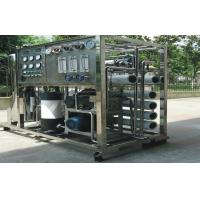 Mobile RO Seawater Reverse Osmosis Desalination Equipment , Water Purifier Systems