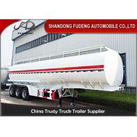 Buy cheap 12 wheels carbon steel fuel tanker semi trailer with 42000 Liters capacity from wholesalers